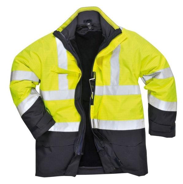 Bunda Hi-Vis Multi-Protection M neon yellow
