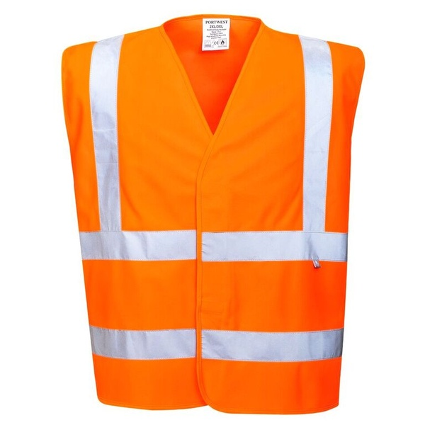 Reflexní antistatická vesta neon orange