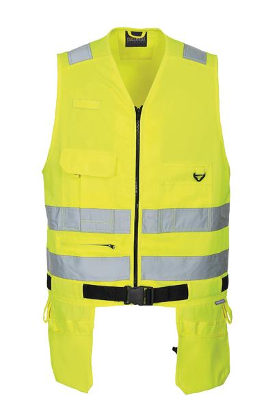 Vesta na nářadí Xenon XXL neon yellow