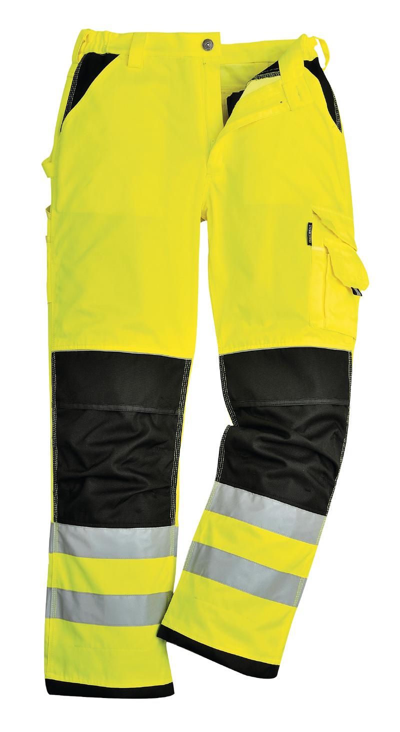 Kalhoty Xenon S neon yellow