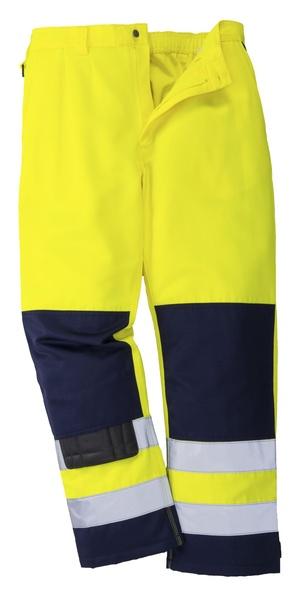 Kalhoty pracovní reflex M neon yellow