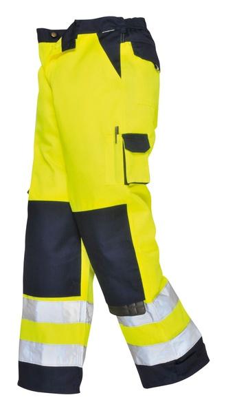 Kalhoty Lyon Hi-Vis XS neon yellow