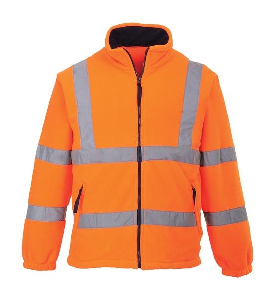 Hi-Vis fleece s podšívkou ze síťoviny XXXL neon orange
