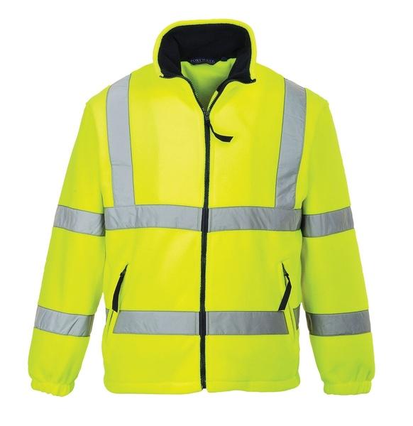 Hi-Vis fleece s podšívkou ze síťoviny XXXL neon yellow