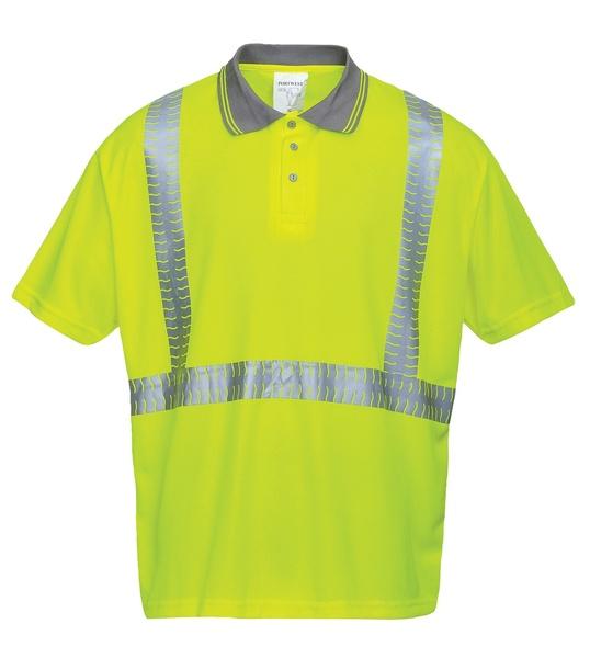 Polokošile Superior Hi-Vis S neon yellow