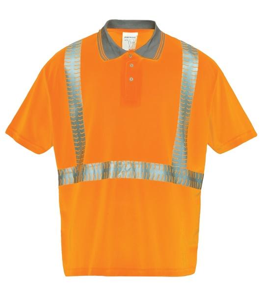 Polokošile Superior Hi-Vis L neon orange