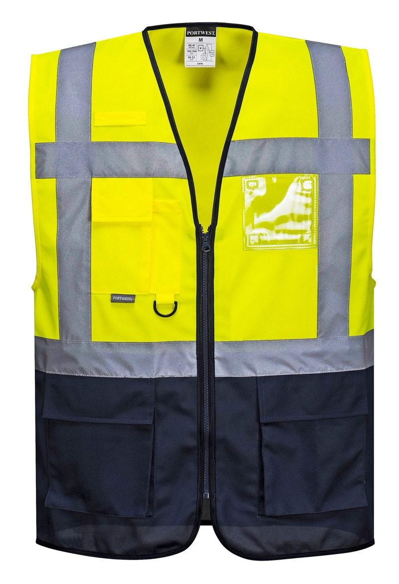 Reflexní Vesta Warsaw Executive XL neon yellow