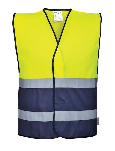 Vest-Port Hi-Vis reflexní vesta Two Tone L tmavě modrá