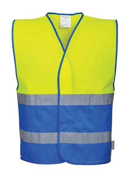 Vest-Port Hi-Vis reflexní vesta Two Tone S královská modrá