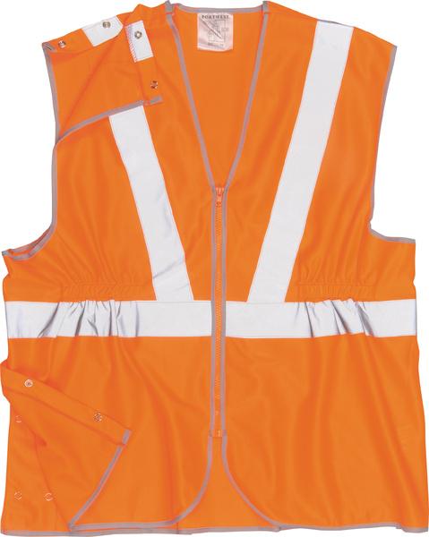Vest-Port Hi-Vis prodloužená vesta RIS XL neon orange