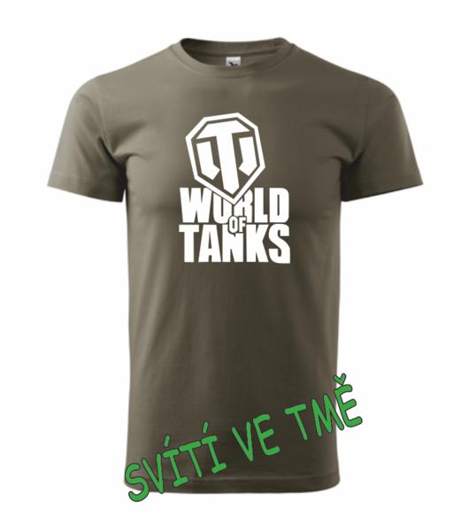 Tričko World of tanks S army