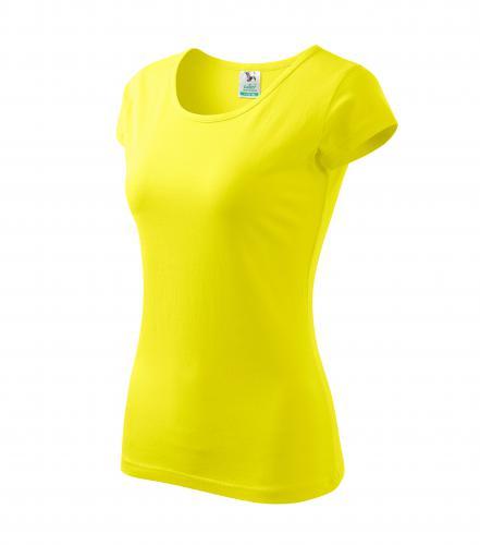 Tričko dámské Pure S citrónová
