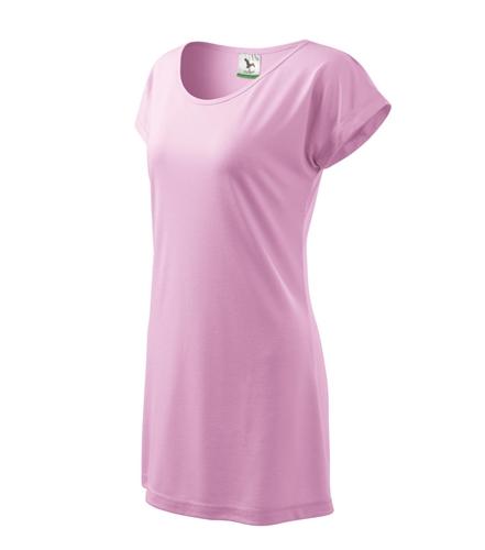 Šaty dámské LOVE L růžová
