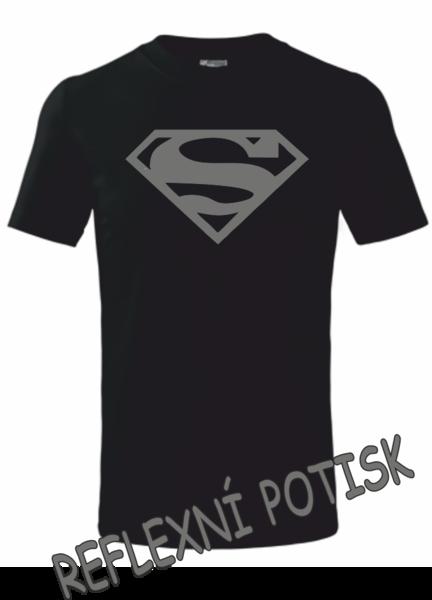 Dětské tričko SUPERMAN 134 REFLEXNÍ
