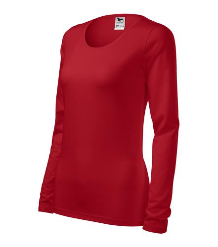 Tričko dámské SLIM XS červená