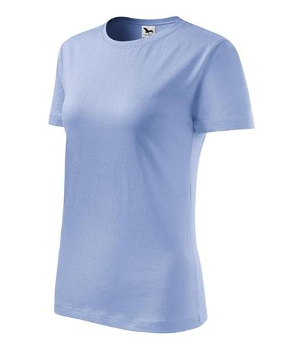 Tričko dámské barevné CLASSIC NEW nebesky modrá XS