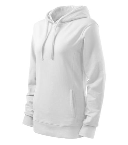 Mikina dámská KANGAROO XL bílá/bílá