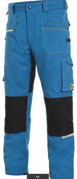 Kalhoty CXS STRETCH pánské 64 azurově modrá