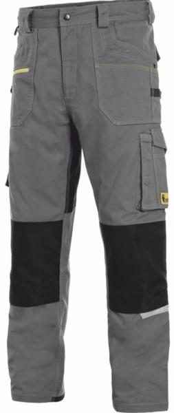 Kalhoty CXS STRETCH pánské 64 tmavě šedý melír