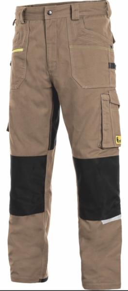 Kalhoty CXS STRETCH pánské 64 písková