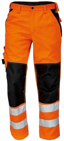 Pracovní reflexní kalhoty Knoxfield 52 oranžová