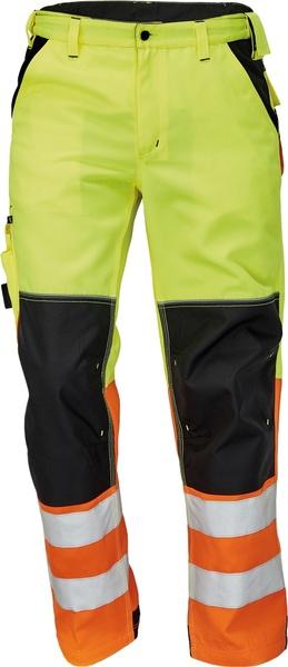 Pracovní reflexní kalhoty Knoxfield 52 neon yellow