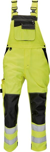 Kalhoty s laclem KNOXFIELD HI-VIS 56 žlutá