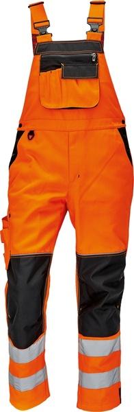 Kalhoty s laclem KNOXFIELD HI-VIS 56 oranžová
