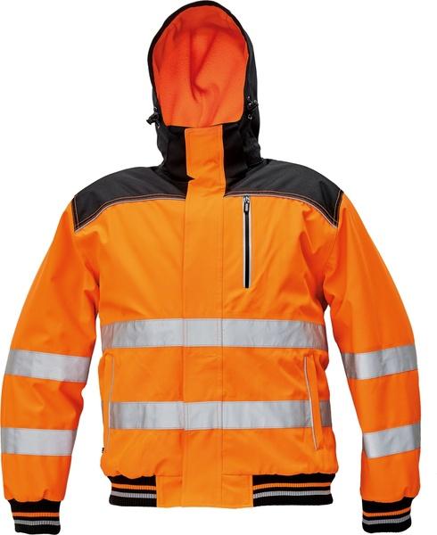Zimní bunda KNOXFIELD HI-VIS PILOT L oranžová