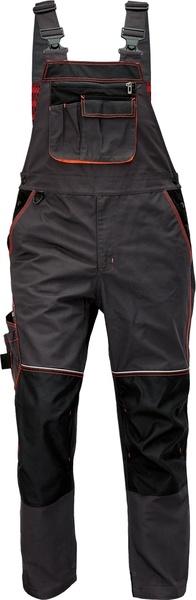 Kalhoty s laclem KNOXFIELD 56 červená