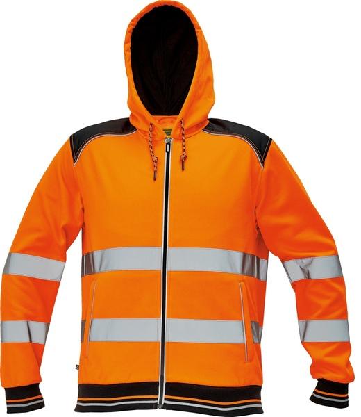 Reflexní mikina KNOXFIELD HI-VIS S oranžová