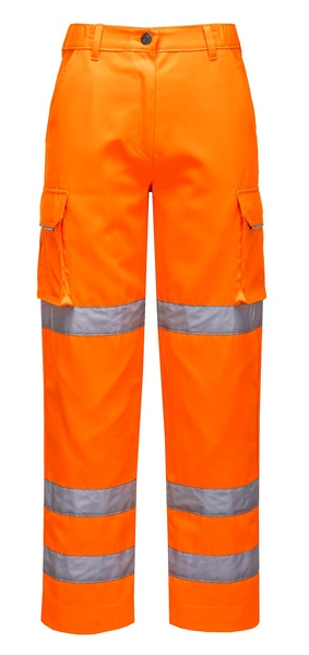 Dámské kalhoty HiVis neon orange XXL