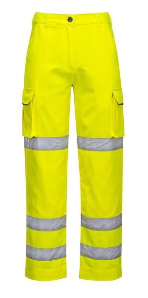 Dámské kalhoty HiVis neon yellow XXL