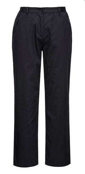 Dámské kuchařské kalhoty Rachel S černá