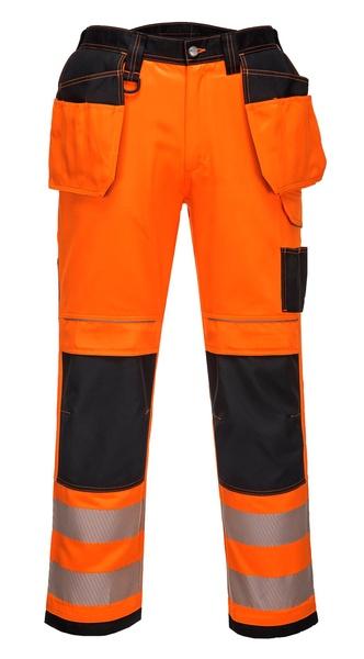 Kalhoty HiVis VISION 46 reflexní oranžová