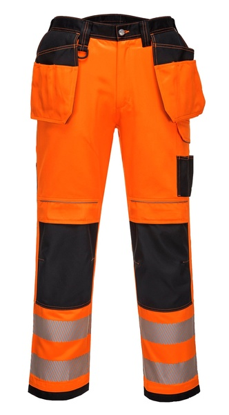 Kalhoty HiVis VISION 52 reflexní oranžová