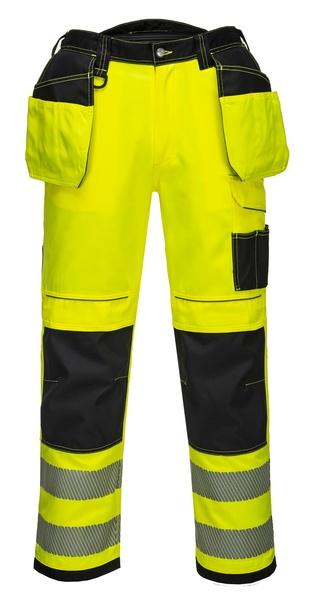 Kalhoty HiVis VISION 56 reflexní žlutá