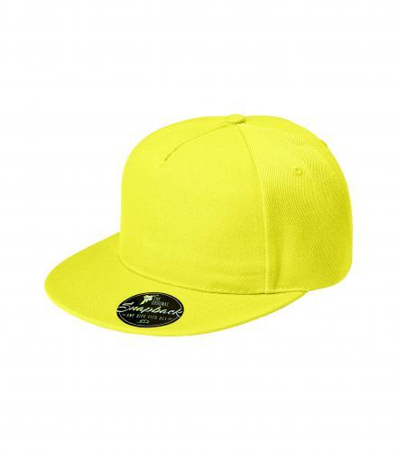 Čepice unisex RAP 5P citrónová