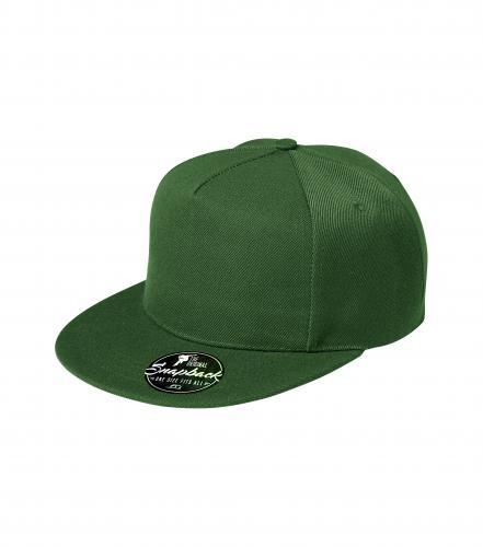 Čepice unisex RAP 5P lahvově zelená