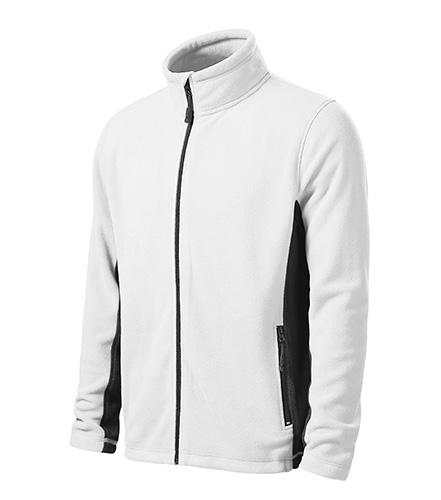 Pánská fleecová bunda FROSTY L bílá