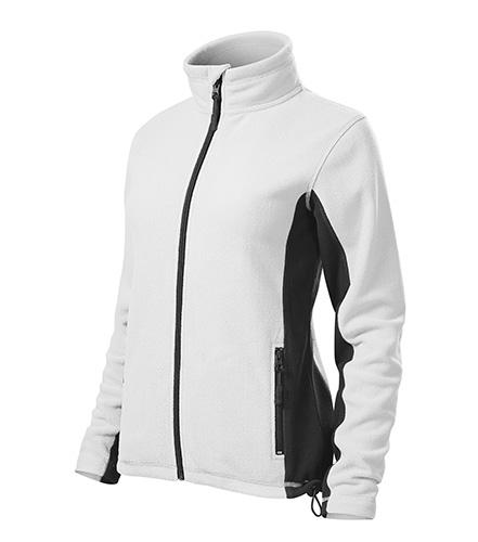 Dámská fleecová bunda FROSTY XXXL bílá