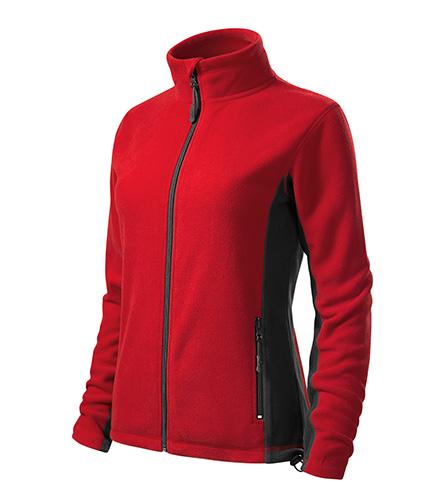 Dámská fleecová bunda FROSTY XXXL červená