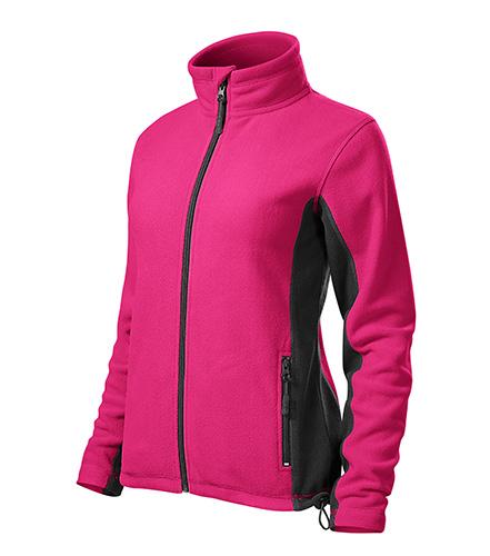 Dámská fleecová bunda FROSTY XXXL purpurová