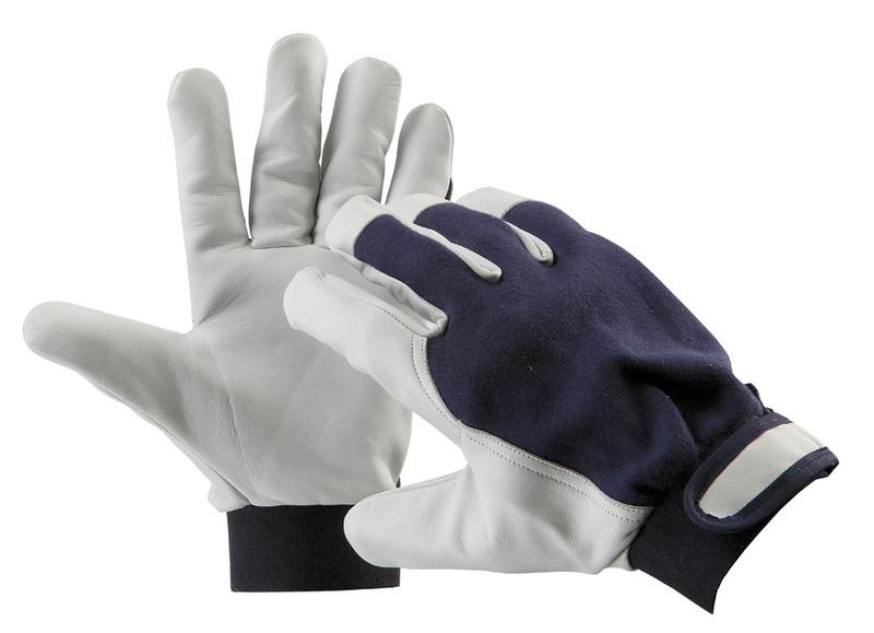 Pracovní rukavice PELICAN blue 8