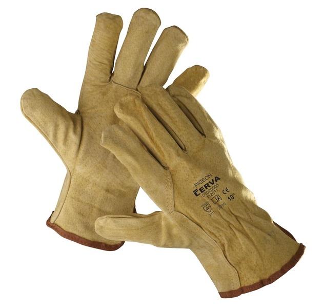 Kožené rukavice PIGEON 10