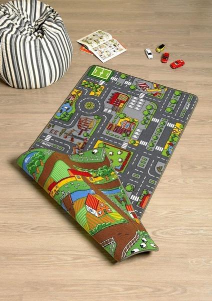 Dětský koberec Silnice 100x185