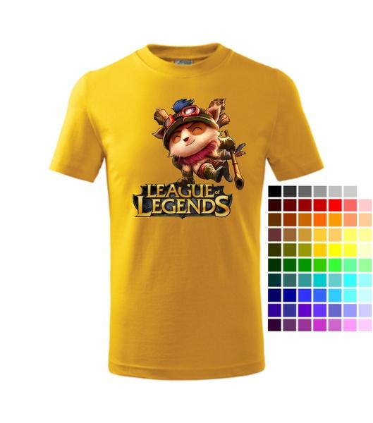 Dětské Tričko League of legends 2