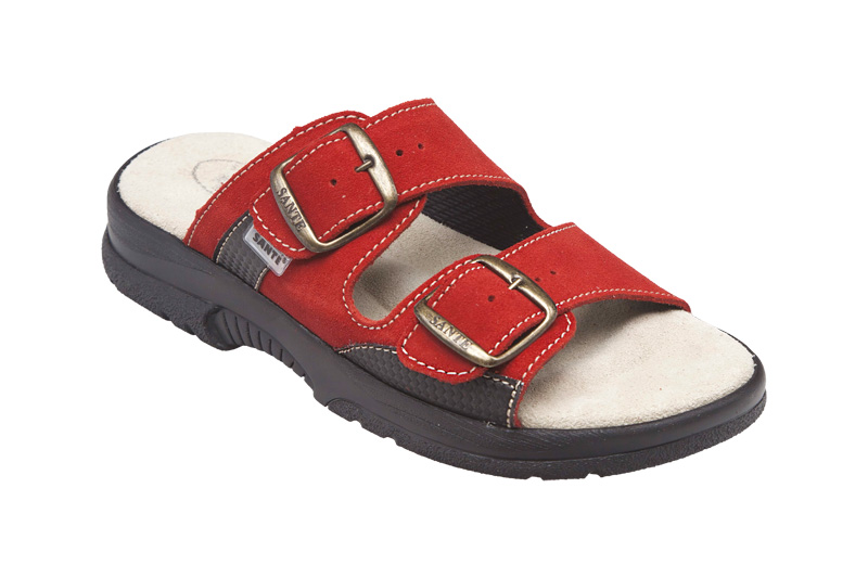 Zdravotní obuv Santé - Červená 36