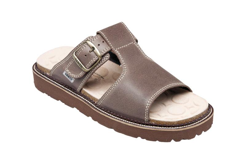 Zdravotní pantofel kožený 41