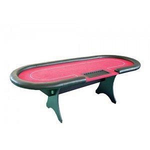 Pokerový stůl ROYAL - červené plátno